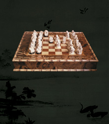 chess from mammoth's tusk